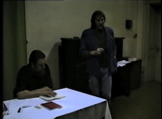 video about first alternative bookfair leipzig 1990 readings