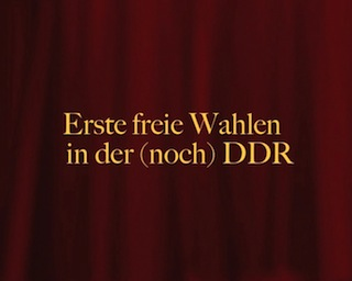 link to video about the first free elections in GDR